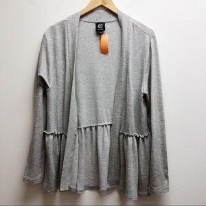 Bobeau gray cardigan
